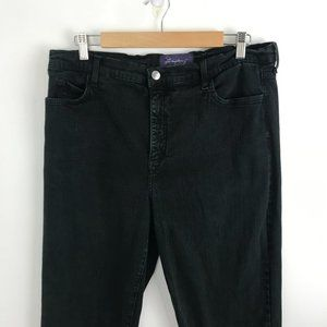 NYDJ Not Your Daughter's Jeans Black Stretchy Jeans